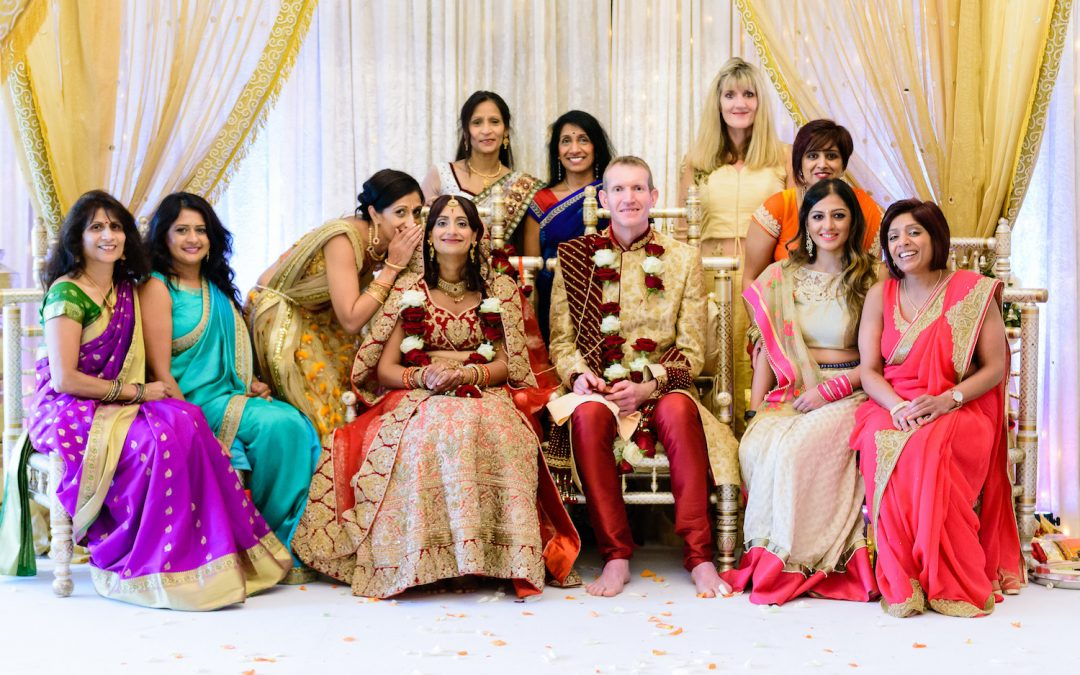 Cornwall Weddings: An Indian Wedding at Tredudwell Manor