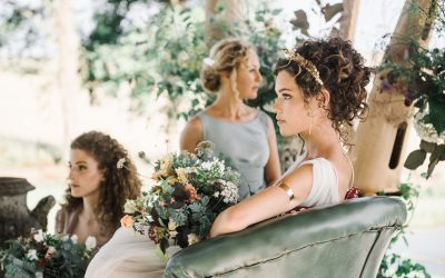 Outdoor Wedding Cornwall: dreamy outdoor wedding inspiration at Tredudwell Manor