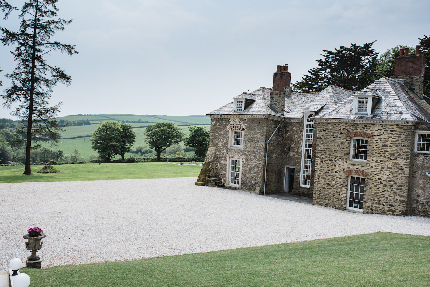Cornwall wedding venue Tredudwell Manor