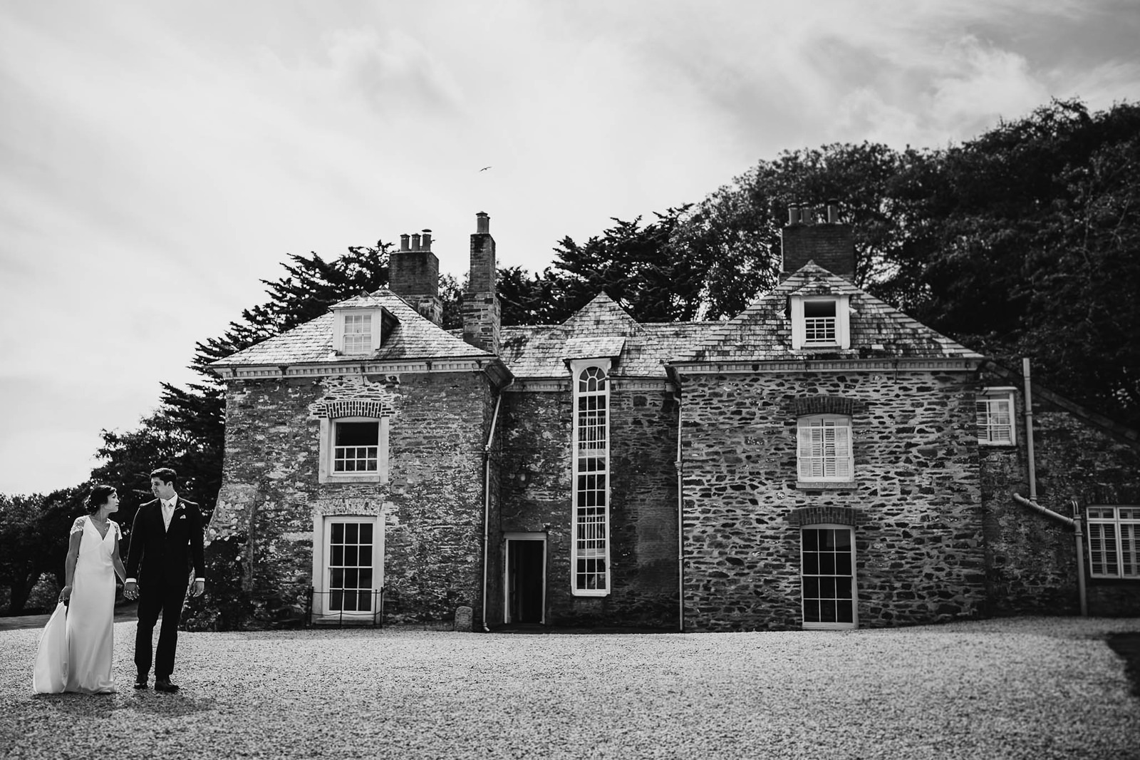 country house wedding venue Tredudwell Manor cornwall